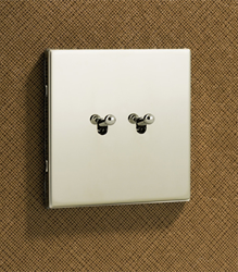 Morpheus,trimless dolly switches,semi raised switch plate,stainless steel switch plate