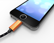 Pawtec Premium Lightning to USB Charge and Sync Cable in Jet Black