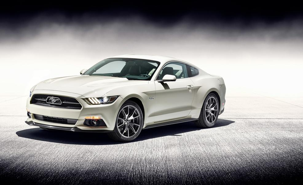 2015 ford mustang 50th anniversary edition pre order for sale. Black Bedroom Furniture Sets. Home Design Ideas