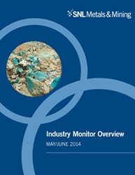 Industry monitor, snl metals & mining