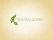 Tropicaderm logo design created by California graphic design company Elevate Creative.
