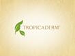 Tropicaderm logo design created by California graphic design company Elevate Creative.