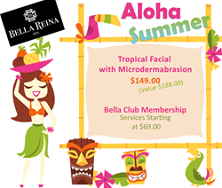 Aloha Summer with the Tropical Facial