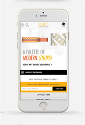 EuroStyleLighting.com Launches Mobile Site Optimized for iOS and Android Devices