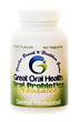 Great Oral Health Launches a Patent-Pending Advanced Oral Probiotics...