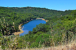 Cherry Flats Reservoir in the Eastern Foothills of the Diablo Range, 