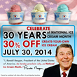 Sub Zero Ice Cream is Offering 30% Off for National Ice Cream Month
