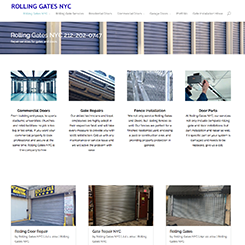 rolling gates, rolling doors, garage doors service company in NY