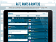 iPad view of Rants and Ranters