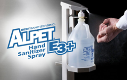 Food processing, hand sanitzer, Alpet E3 Plus, Best Sanitizers