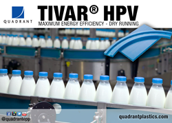 TIVAR® HPV was developed specifically for use in today's most demanding production environments experiencing; high speeds, high temperatures, high friction,high loads and aggressive cleaning agents.