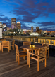 381 Congress Rooftop Deck with Views of the Boston skyline and harbor