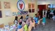 Birthday party fun at Sub Zero