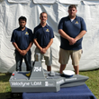 The Embry-Riddle team (from left): Hitesh V. Patel (Research Associate), Christopher Kennedy (Research Associate), Tim Zuercher (Research Associate)