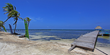 Beach area. Brights Waters resort for sale on Ambergris Caye, Belize