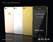 Brikk Launches Premium Version of iPhone 6 in Gold and Platinum With Diamond Options for Pre-orders