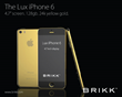 Lux iPhone 6 by Brikk in Gold or Platinum with Diamonds