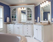 Bathroom Design by Case Design/Remodeling, Inc.
