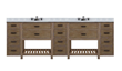 "Toby 96"" Modular Double Bathroom Vanity TB9621D3 From Sagehill Designs"