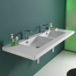 Mars Wall Mounted Bathroom Sink From Ceramica Tecla 04011
