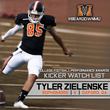 Tyler Zielenske - 2014 CFPA Watch List