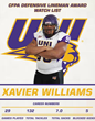 Xavier Williams - 2014 CFPA Watch List