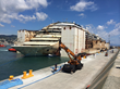 Costa Concordia Arrives in Genoa, Marks Completion of Largest Maritime...