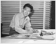 Iwao Takamoto began his animation career in 1945 after Walt Disney recruited him as the first inmate released from California's Manzanar internment camp for Japanese Americans during World War II.