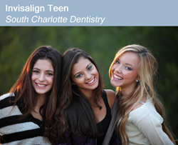 Get Invisalign Teen at South Charlotte Dentistry in Ballantyne