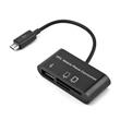 USB HUB & Card Reader For OTG Mobile Phone