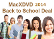 MacXDVD's Big Run for Back to School Shoppers: Enjoy Mega Discount...