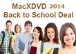 MacXDVD's Big Run for Back to School Shoppers: Enjoy Mega Discount on DVD Video Converter Software