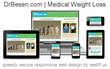 Miami Medical Weight Loss Website DrBesen.com Designed by WebFL.US...