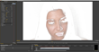 Precise control over details and skin texture is achieved with the software's masking feature.