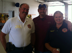ServiceMaster Restore by Angler Participates in Fire House Poker Run