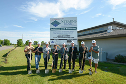 Ground Breaking Miller Architects & Builders and Stearns Bank