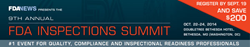 9th Annual FDA Inspections Summit