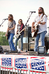 Blackberry Smoke USO Tour Summer 2014