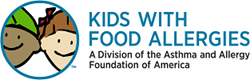 Kids With Food Allergies Logo