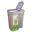 Jumbo Airtight Cereal Storage Container, Pack of 4
