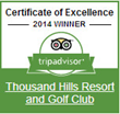 Branson Resort Awarded Again: 2014 TripAdvisor Certificate of...