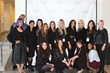 Fashion Marketing Chair Wendy Bendoni (right) with WU Fashion Marketing students