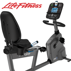 Life Fitness Recumbent Step-Through Series LifeCycles