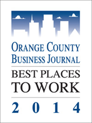 OCBJ Best Places to Work 2014