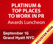 PR News Announces Platinum PR Awards Finalists