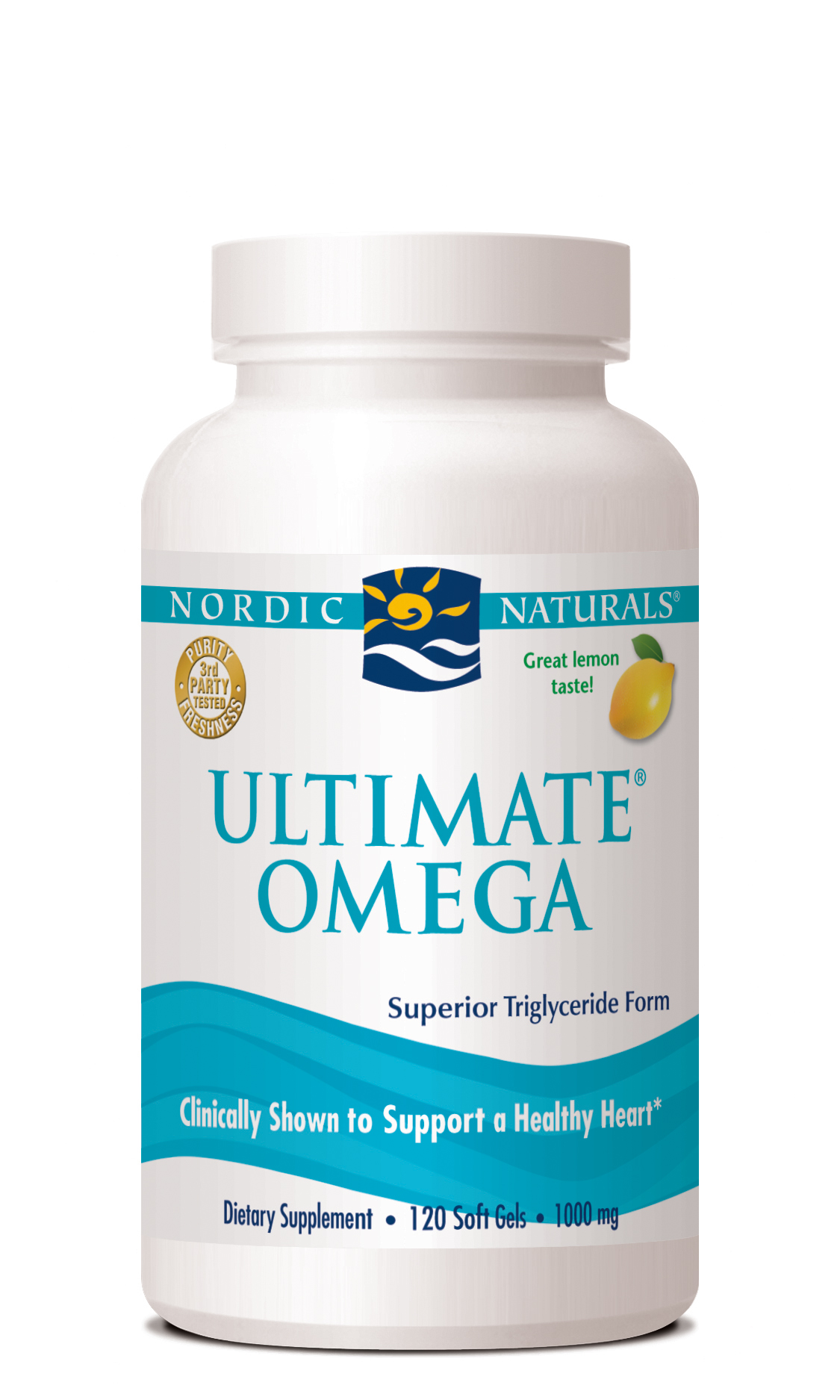 Study shows nordic naturals triglyceride form ultimate for Triglyceride fish oil
