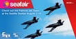 Live Air Show Featuring the Patriots Jet Team at 2014 Seattle Seafair...