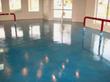 Blue Parlor floor