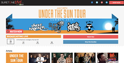 Sugar Ray, Blues Traveler, Smash Mouth, Uncle Kracker, Concert, Webcast