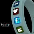 hicon: All Social Networks Made Wearable in One Single Smart Wristband